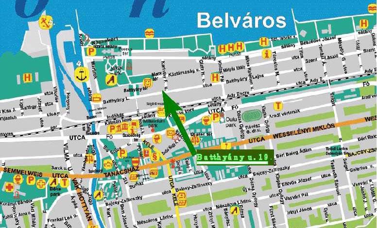 siófok térkép Marianna Apartman, Siófok siófok térkép